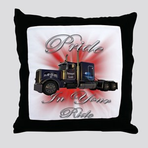 Pride In Ride 1 Throw Pillow