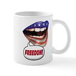 FlagMouth: FREEDOM Mug