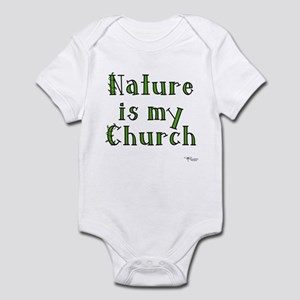 Nature is my Church Infant Bodysuit