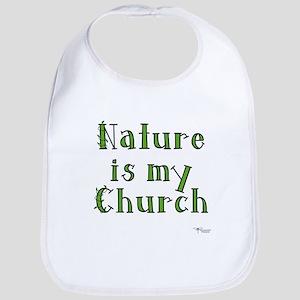Nature is my Church Bib