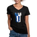 Haven Avare Women's V-Neck Dark T-Shirt