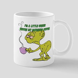 Morning Coffee Alien Mug