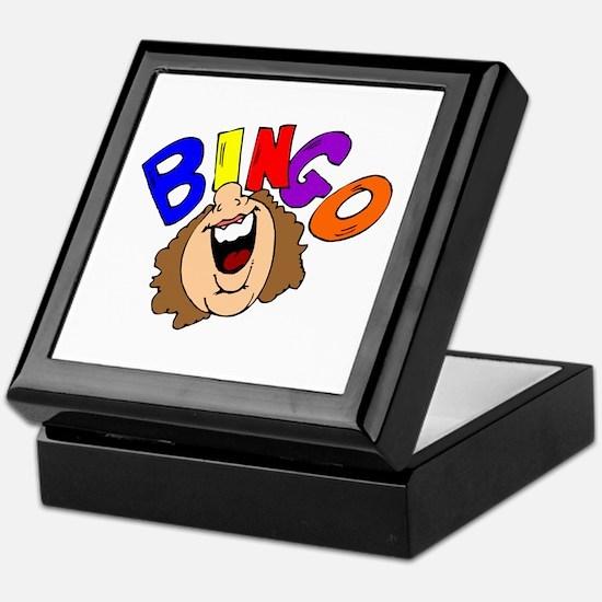 Calling Bingo Keepsake Box