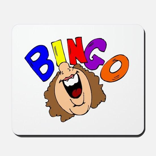 Calling Bingo Mousepad