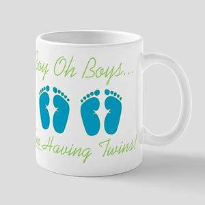 Boy Oh Boys - Expecting Twins Mug