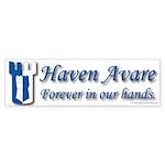 Haven Avare Bumper Sticker (50 pk)