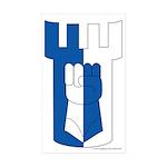 Haven Avare Rectangle Sticker 50 pk)