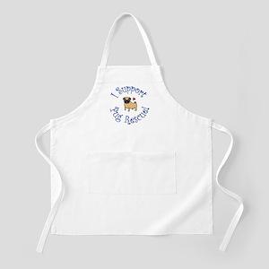 Pug Rescue (Fawn) BBQ Apron