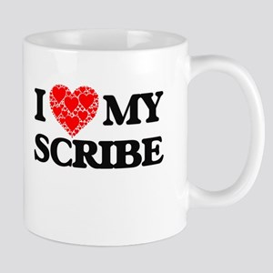 I Love my Scribe Mugs