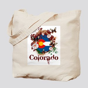 Butterfly Colorado Tote Bag