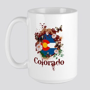 Butterfly Colorado Large Mug