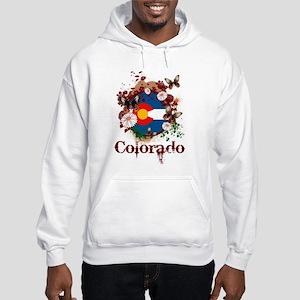 Butterfly Colorado Hooded Sweatshirt