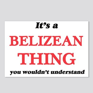 It's a Belizean thing Postcards (Package of 8)