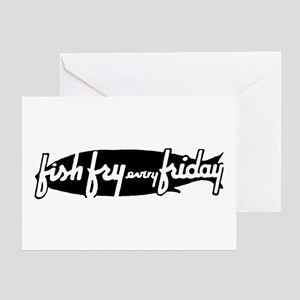 Fish Fry Friday Greeting Card