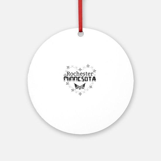 Cute Rochester minnesota Round Ornament