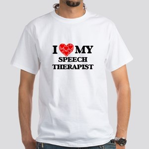 I Love my Speech Therapist T-Shirt