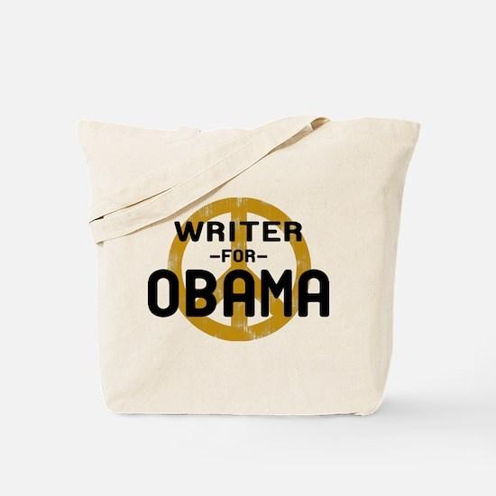 Writer for Obama Tote Bag