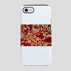 goldenfleursrougeshb iPhone 8/7 Tough Case