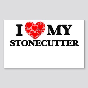I Love my Stonecutter Sticker