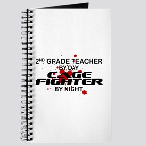 2nd Grde Tchr Cage Fighter by Night Journal