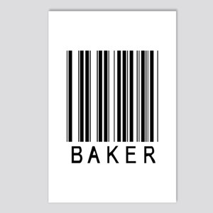 Baker Barcode Postcards (Package of 8)