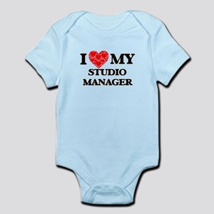 I Love my Studio Manager Body Suit
