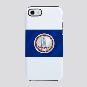 Virginia State Flag iPhone 8/7 Tough Case