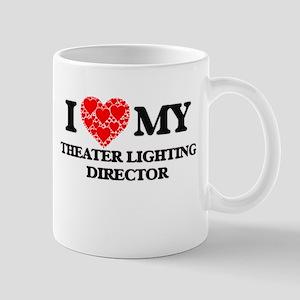 I Love my Theater Lighting Director Mugs