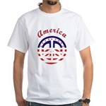 American Peace White T-Shirt