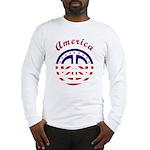 American Peace Long Sleeve T-Shirt