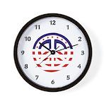 American Peace Wall Clock