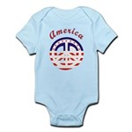 American Peace Infant Bodysuit