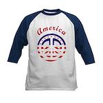 American Peace Kids Baseball Jersey