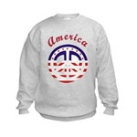 American Peace Kids Sweatshirt