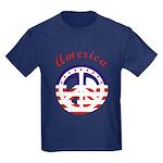 American Peace Kids Dark T-Shirt