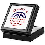 American Peace Keepsake Box