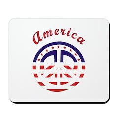 American Peace Mousepad