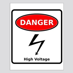 High Voltage Small Poster