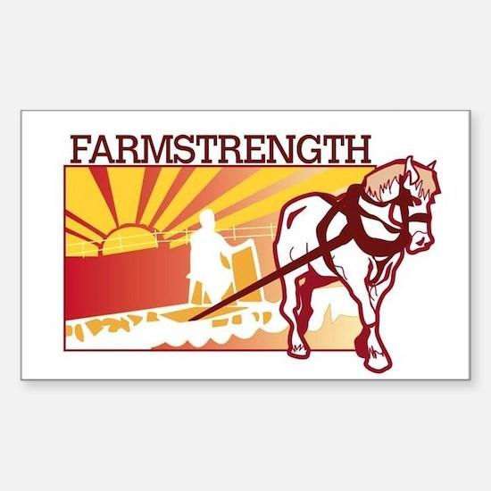 Farm Strength sticker