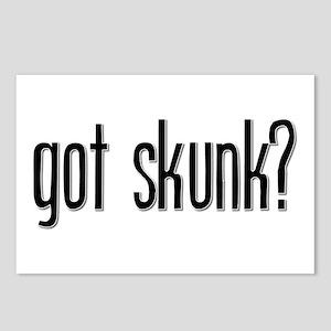 Got Skunk? Postcards (Package of 8)