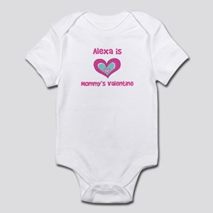 AlexaIs Mommy's Valentine Infant Bodysuit