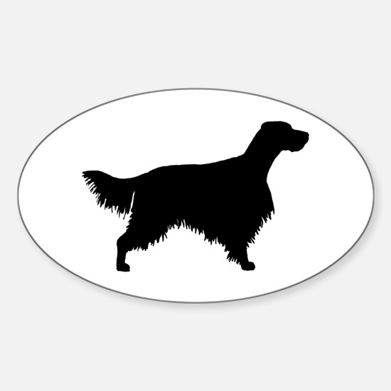 English Setter Sticker (Oval)