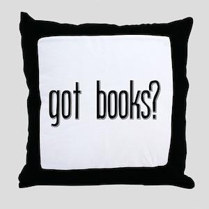Got Books? Throw Pillow