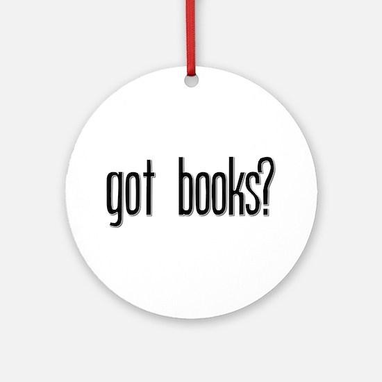 Got Books? Keepsake (Round)