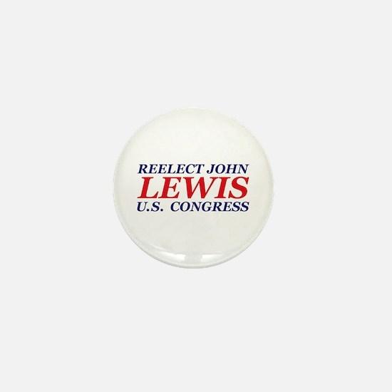 Reelect Lewis Mini Button