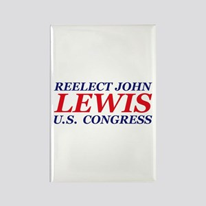 Reelect Lewis Rectangle Magnet