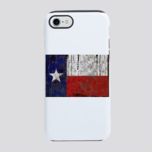 Retro Flag of Texas iPhone 8/7 Tough Case