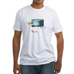 Surf Art - Fitted T-Shirt