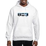 Eat, Sleep, Surf - Hooded Sweatshirt