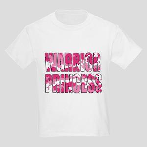 Warrior Princess Kids Light T-Shirt